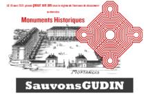 Gudin instance de Classement au titre des monuments hisotriques